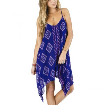 Billabong Women's Rapid Waves Dress - Feeling Blue