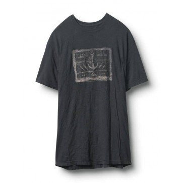 Quiksilver Forbes T - Dark Charcoal