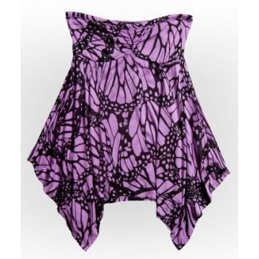 Fox Fly Away Tube Top - Lilac Purple