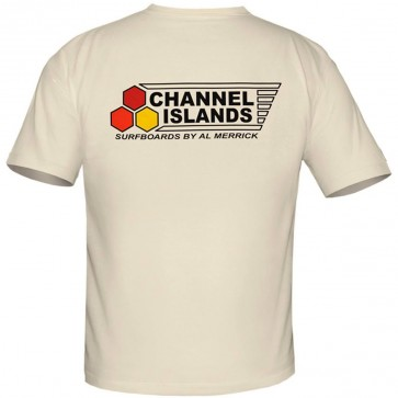 Channel Islands Flag Curren OG T-Shirt - Natural
