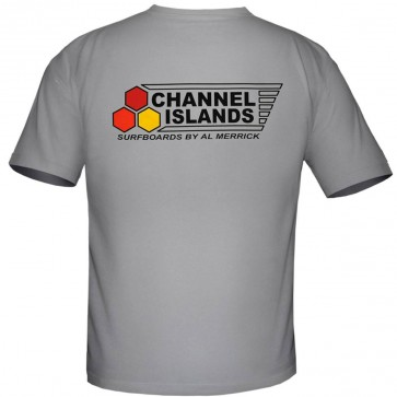 Channel Islands Flag Curren OG T-Shirt - Lite Grey