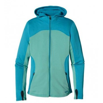 Patagonia Women's Capilene 4 Expedition Weight Full-Zip Hoody - Nile Blue
