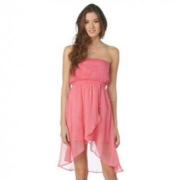 Roxy Women's Luna Dress - Rosy Pink