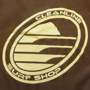 Cleanline Women's Corp Logo/Big Rock Hoodie - Brown/Cream