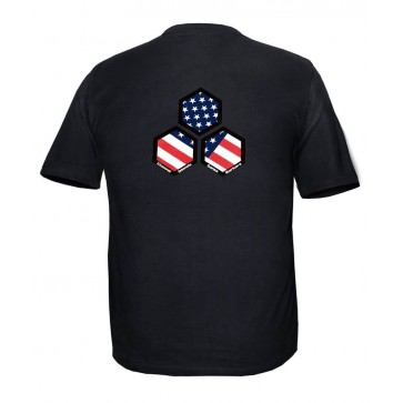 Channel Islands USA Hex Slim Fit Tee - Black