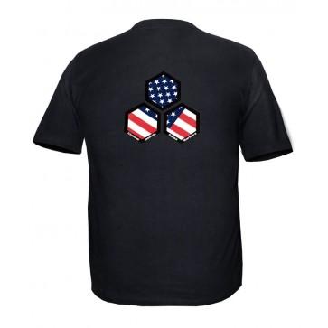 Channel Islands USA Hex Slim Fit Tee - Black