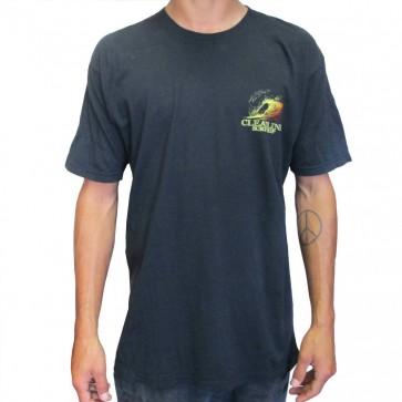 Cleanline Graphite Sunset T-Shirt - Black