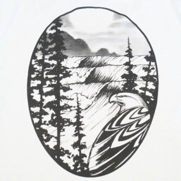 Cleanline Women's Eagle Scoop Top - Silver