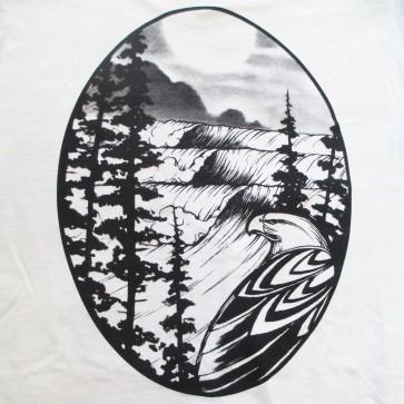 Cleanline Eagle T-Shirt - Silver