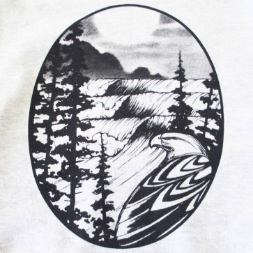 Cleanline Women's Eagle Hoodie - Lite Grey