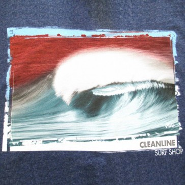 Cleanline Hollow Days Longsleeve T-Shirt - Heather Navy