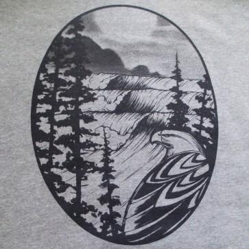 Cleanline Eagle Hoodie - Grey