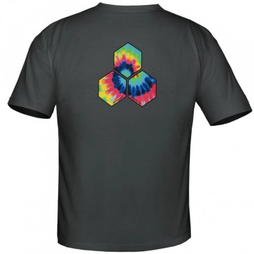 Channel Islands Tie Dye Hex T-Shirt - Heavy Metal