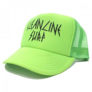 Cleanline Rock Star Trucker Hat - Neon Green/Black