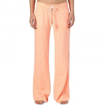 Roxy Women's Ocean Side Pants - Cantaloupe
