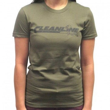 Cleanline Women's Sunburst Top - Army