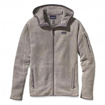 Patagonia Women's Better Sweater Zip Hoodie - Natural Feather Grey