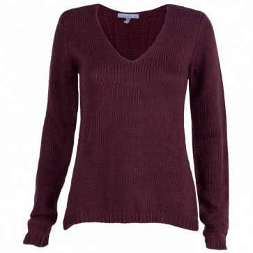 O'Neill Women's Snowfall Sweater - Burgandy