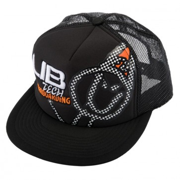 Lib Tech Checker Trucker Hat - Black