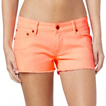 Roxy Women's Lovin Color Shorts - Cantaloupe