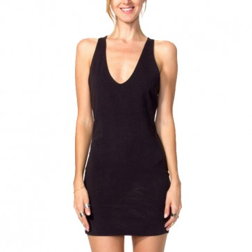 RVCA Women's Haunted Dress - Black Haze