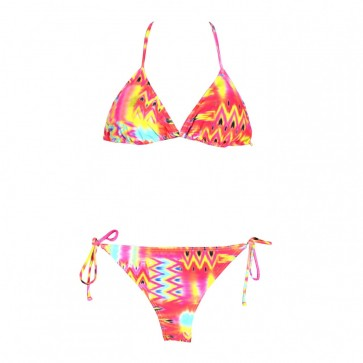Billabong Women's Maya Bay Triangle Swimsuit - Multi