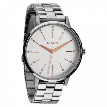 Nixon Watches - The Kensington - Silver/Light Gold/Crystal