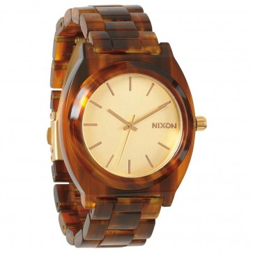 Nixon Watches - The Time Teller Acetate - Gold/Molasses