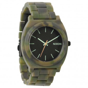 Nixon Watches - The Time Teller Acetate - Matte Black/Camo
