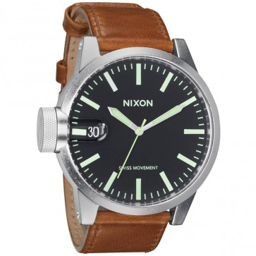Nixon Watches - The Chronicle - Black/Saddle