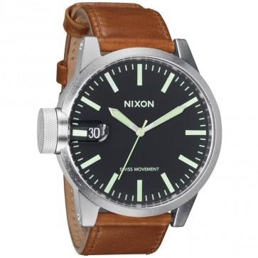 Nixon Watches - The Chronicle - Black/Saddle