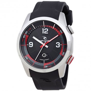 Rip Curl Launch Heat Timer Watch - Black