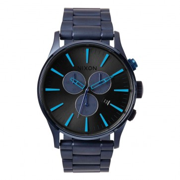 Nixon Watches - The Sentry Chrono Limited Edition Watch - Deep Blue