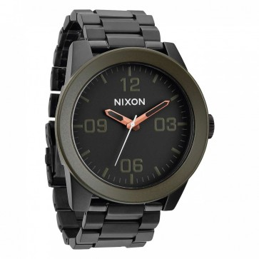 Nixon Watches - The Corporal SS - Matte Black/Industrial Green