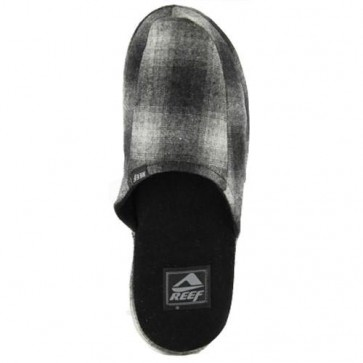 Reef Honey-Do Slippers - Grey Plaid