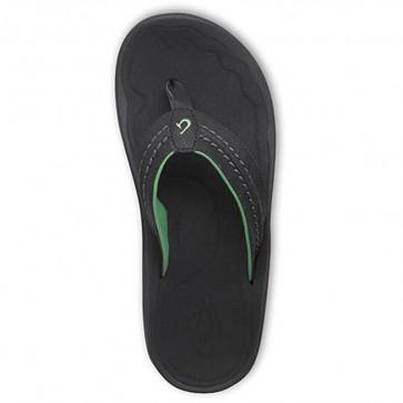 Olukai Hokua Sandals - Black