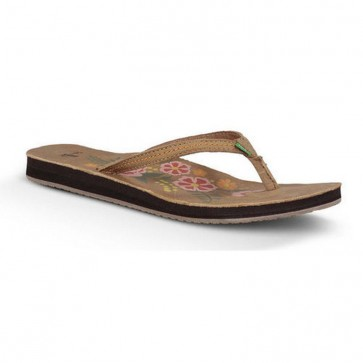 Sanuk Women's Flora The Explora Sandals - Tan