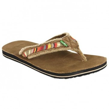Sanuk Fraid Too Sandals - Tan/Multi