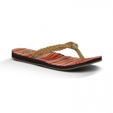 Sanuk Women's Poncho Viva Sandals - Tan
