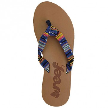 Reef Women's Guatemalan Knot Sandals - Blue Multi