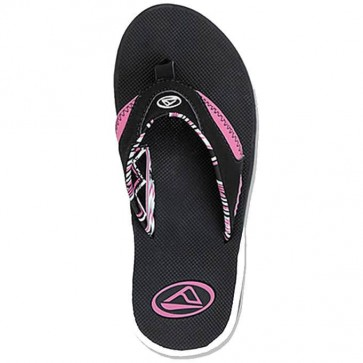Reef Women's Fanning Sandals - Black/Native