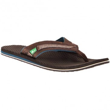 Sanuk Kato Sandals - Chocolate