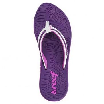 Reef Women's Phoenix Sandals - Purple/White