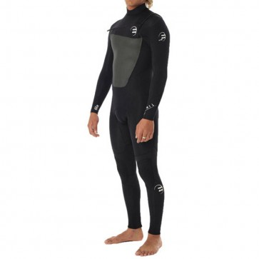 Billabong Foil 4/3 Chest Zip Wetsuit - Black