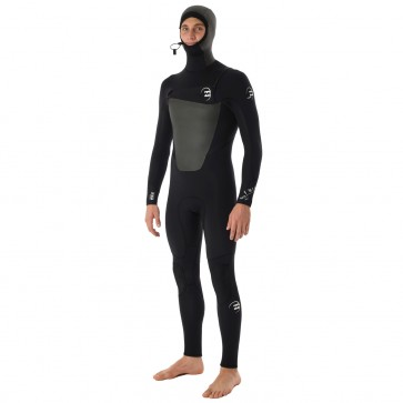 Billabong Foil 5/4 Hooded Chest Zip Wetsuit