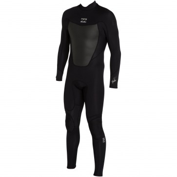 Billabong Foil 3/2 Back Zip Wetsuit - Black