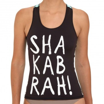 Billabong Wetsuits Women's Shaka For Days Tank Rash Guard - Mo Mint