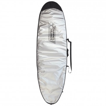 Channel Islands Team Light Longboard Surfboard Bag - Silver