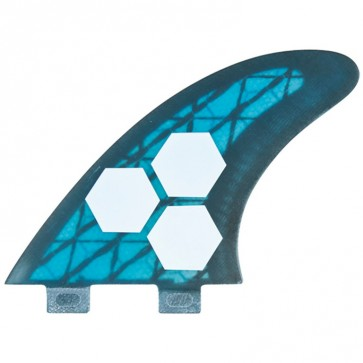Channel Islands Fins - Tech 3 Large - Blue/Carbon