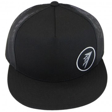 Firewire Surfboards Circle Icon Trucker Hat - Black/Silver